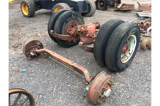 Commercial Front Axle : Commercial vehicle front and rear axles