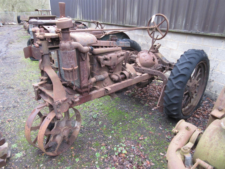 Farmall Steel Wheels : Ih farmall f cylinder petrol paraffin tractor with