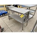 Stainless Steel Table (Located in Oelwein, IA) (Rigging & Loading: $25)