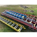 Exetension Ladder, 24', (Rigging & Loading: $25) (Located in Oelwein, IA)