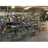 Cotterman Ladders, Various Sizes, Qty 5, (Rigging & Loading: $50) (Located in Oelwein, IA)