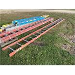 Ladder, 20', (Rigging & Loading: $25) (Located in Oelwein, IA)
