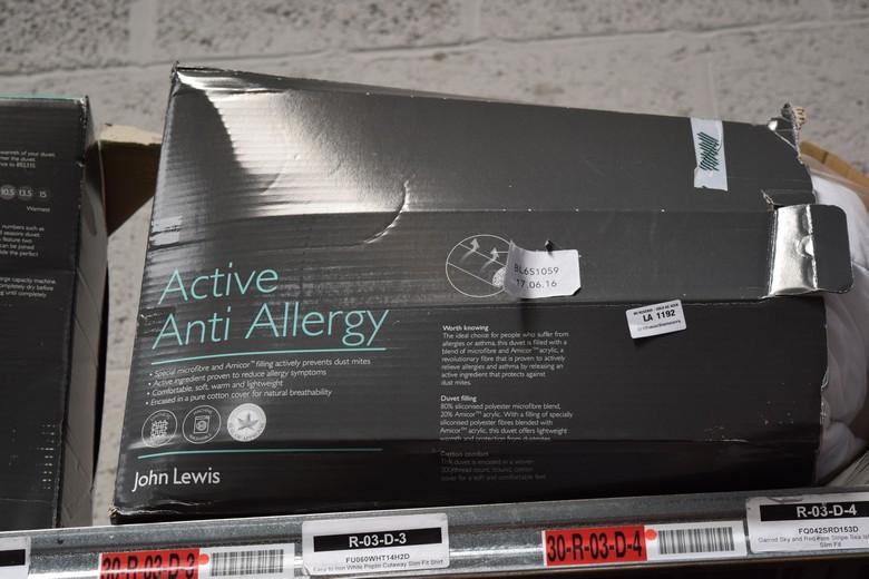1x Boxed Active Anti Allergy 4 5 Plus 9 King Size Duvet