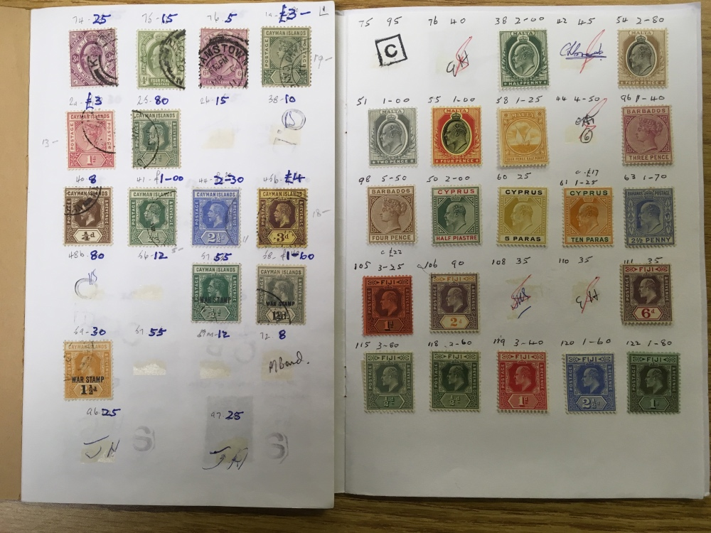 Lot 36 - SMALL BOX VARIOUS, COMMONWEALTH IN CLUB-