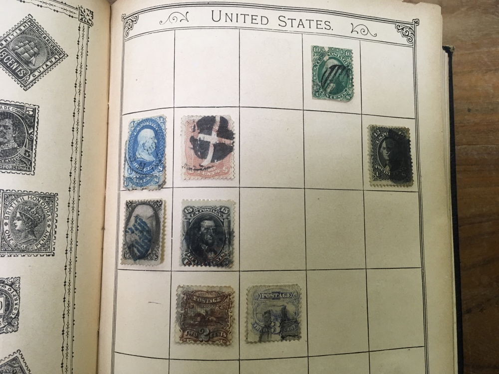 Lot 48 - LINCOLN ALBUM (13TH EDITION) WITH OLD TI