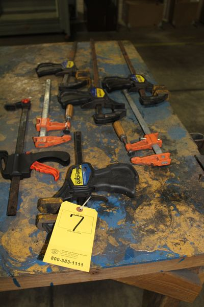 Lot 7 - ASST BAR CLAMPS (LOCATION 1: 1308 LE GILLILAND DR, TEXARKANA, AR 71854)