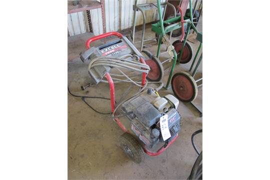 Excell Pressure Washer Model Xc2600 2600 Psi With Honda Gc160 5 Hp Motor