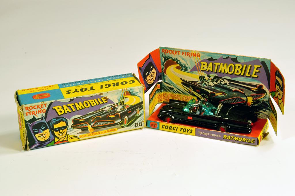 Lot 60 - Corgi No.267 Batman Batmobile. G example in G Box.