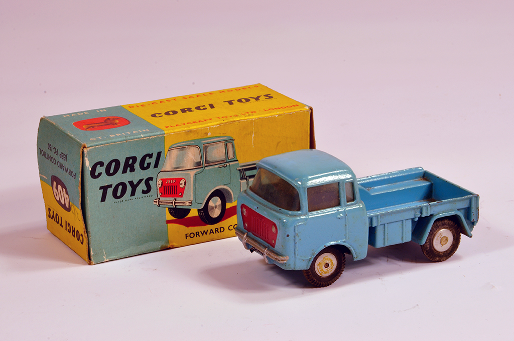 Lot 50 - Corgi No. 409 Forward Control Jeep FC-150 Pick-up Truck. G in G Box.