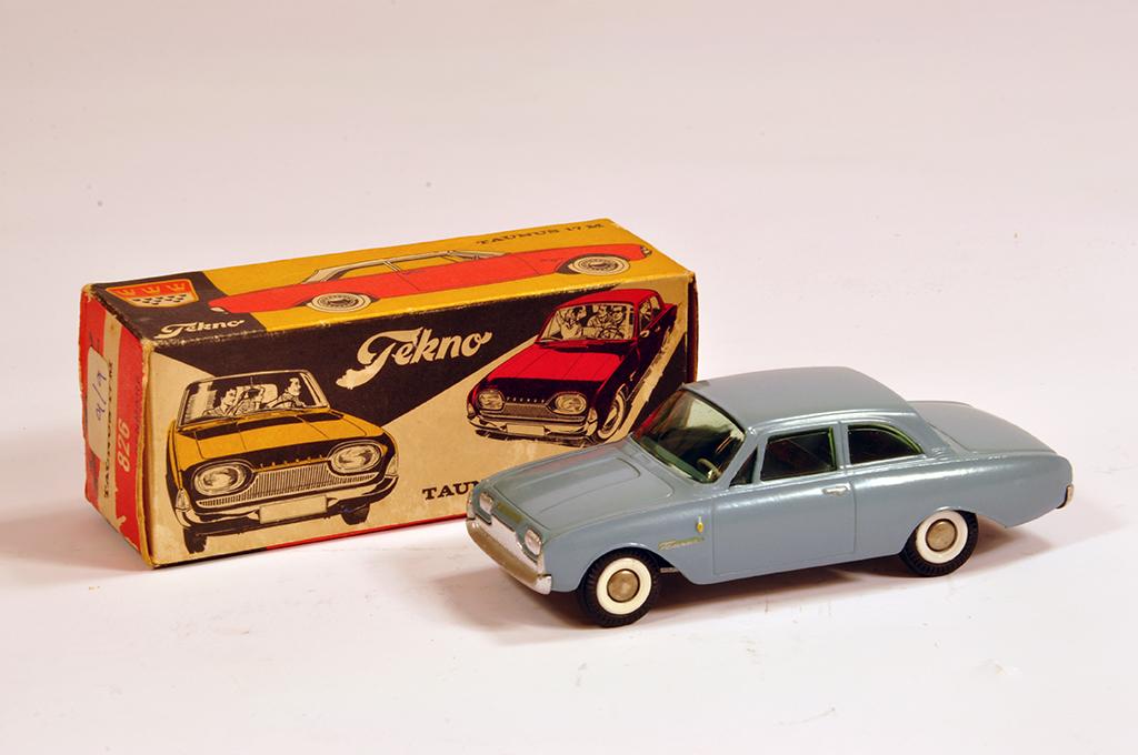 Lot 56 - Tekno No. 826 Ford Taunus 17M. Grey. NM in VG Box.