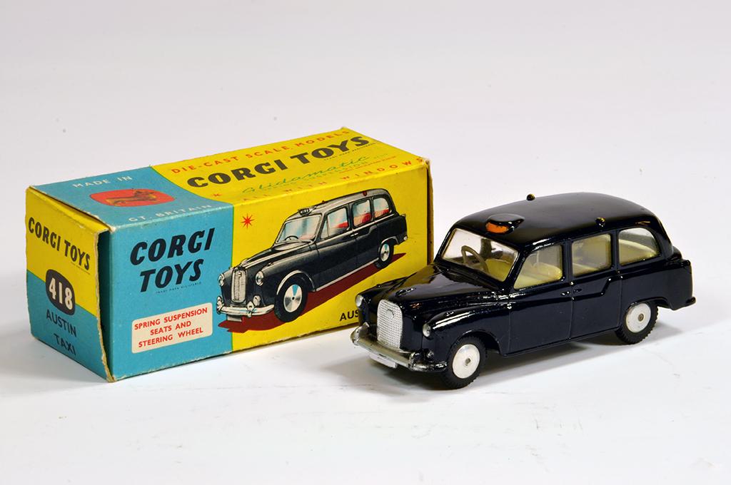 Lot 26 - Corgi No. 418 Austin FX4 London Taxi. NM in E Box.