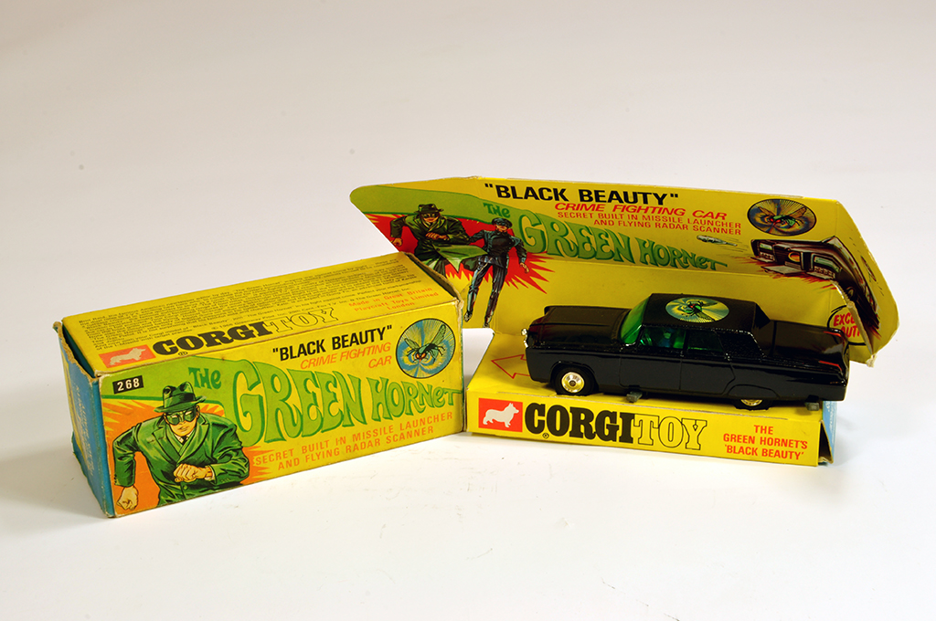 "Lot 59 - Corgi No. 268 The Green Hornet"" - Black Beauty. VG in G Box."