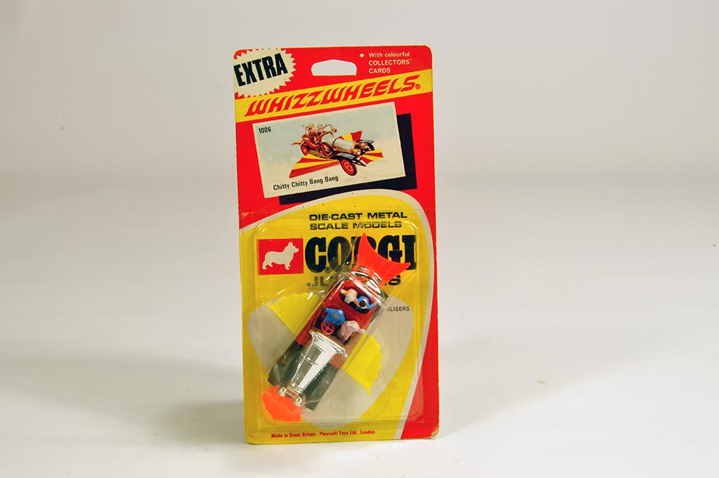 Lot 39 - Corgi Juniors No. 1006 Chitty Chitty Bang Bang. M example on E Card.