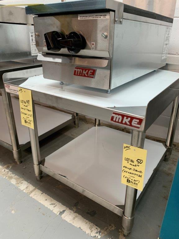 """Table base d'équipement MKE - NEUVE # ESTAN 2430 - 24 X 30 """""""