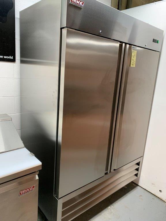 "Réfrigérateur MKE - NEUF - 2 portes # RI-49 SS - 54 X 33"" - Image 2 of 6"