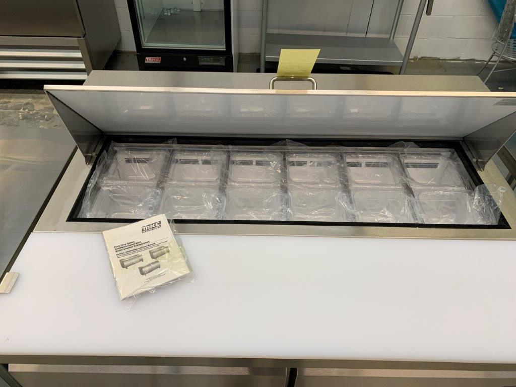 """Table de preparation réfrigérée - 2 portes # ST-48 - 48 x 30"""" - Image 2 of 4"""