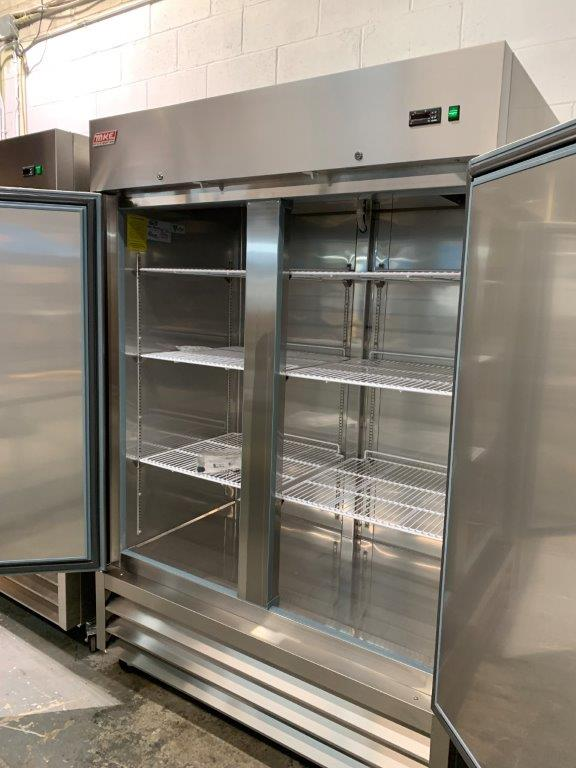 "Réfrigérateur MKE - NEUF - 2 portes # RI-49 SS - 54 X 33"" - Image 2 of 4"