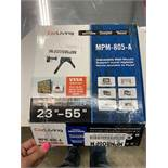 Support mural pour TV ajustable # MPM - 805 -A - NEUF - COR LIVING -