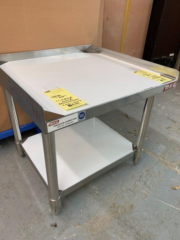 """Table base d'équipement MKE - NEUVE # SETAN 2424 - 24 X 24 """""""