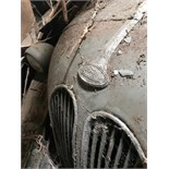 A vintage Ford 103E Popular, circa 1950's, Barn Find condition probably not moved in over fifty