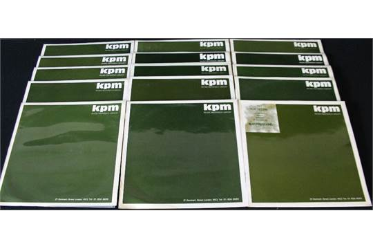 KPM - A great collection of 15 releases on the highly