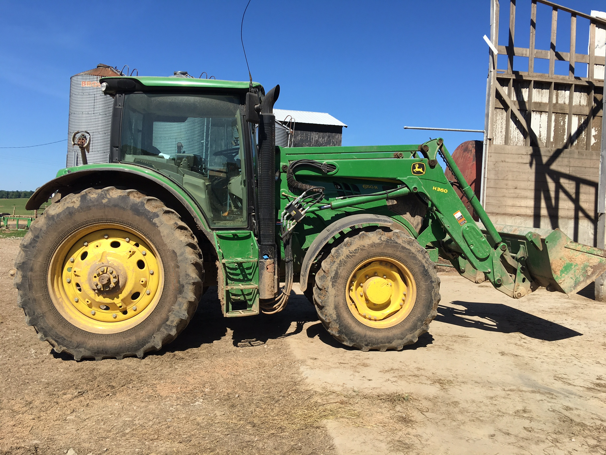 Tractor Hydraulic Remote : John deere r tractor wd pto point hitch