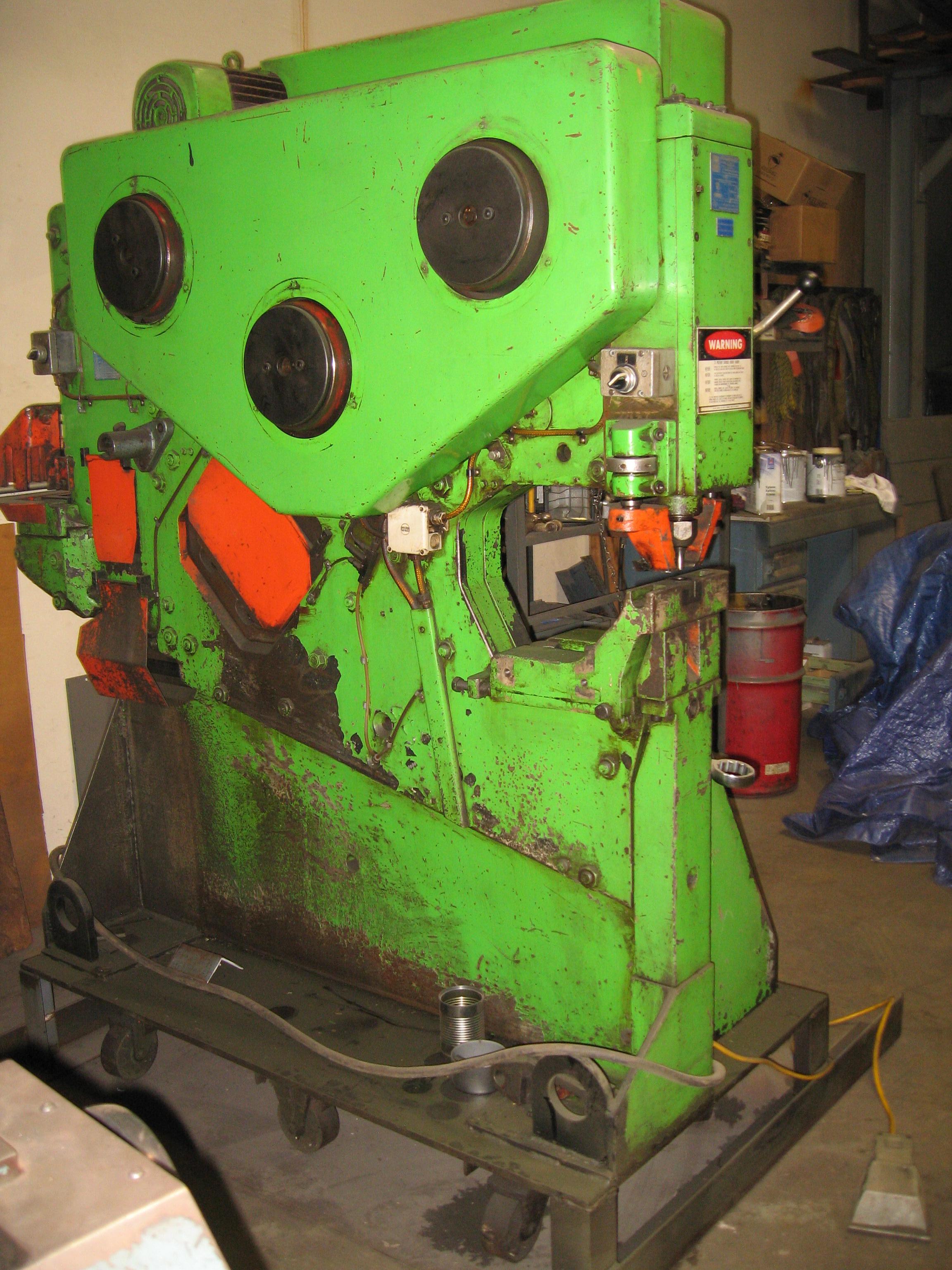 Mubea Optima Kbl 71 Mechanical Ironworker  71 Ton Punch  5