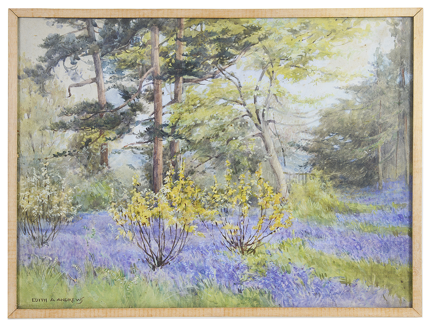 Lot 48 - Edith Alice Andrews (1900-1940) two water colours
