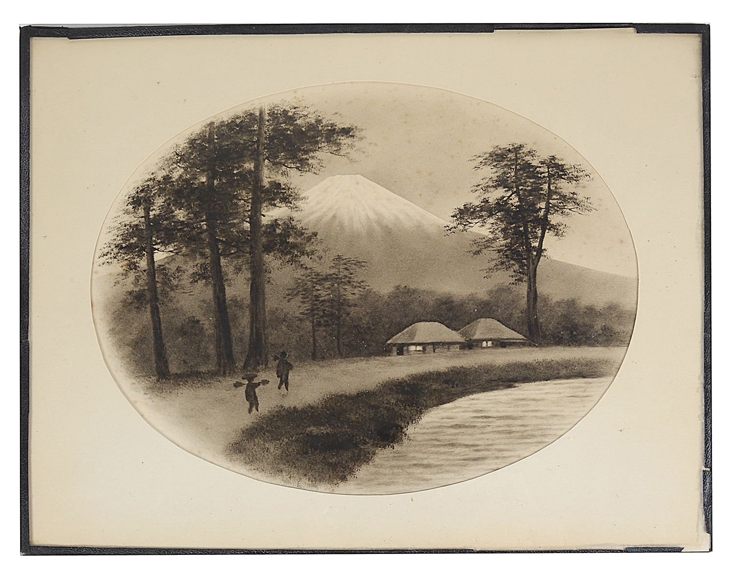 Lot 55 - H Watanabe, (Japanese, 20th century) landscape and river scenes; others