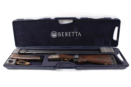 S2 12 bore Beretta Ultralight De Luxe over and under ejector