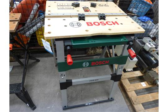 Bosch Pwb 600 Adjustable Work Bench