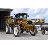 Rogator 854 sprayer, 3360 hrs, 80' boom, 800 gal SS tank, 14.9-46 tires, SN 850440902