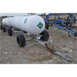 1000 gal NH3 tanks on running gear