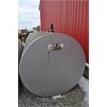2,000 gal steel fuel tank