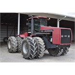 Case International 9280 4WD tractor, 7377 hrs, CHA, 4 hyd remotes, 24.5-32 duals, SN JCB0029028
