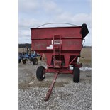 Unverferth McCurdy gravity wagon with gear, ploy cupped poly tube auger, hyd power unit