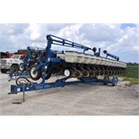 40' Kinze 3600 16/31 row planter, No-till coulter, Martin spike closing wheels and drag chains,