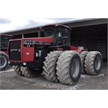 Case International 9380 4WD tractor, 7060 hrs, CHA, 4 hyd remotes, 710/70R38 duals, SN JEE0072446