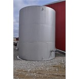 11,500 gal vertical steel tank