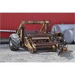 Schulte rock picker, PTO drive reel, hyd dump, 18.4-16.1 bar tires, SN RS1HL