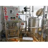 Whey Cream Pasteurising process consisting of Main