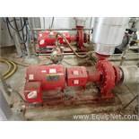 Lot of 2 Bell and Gossett e-1510 25 HP Centrifugal Pumps