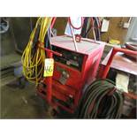 LINCOLN IDEALARC R3R-400 TIG WELDER W/CART