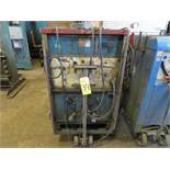 HOBART CT-300 CYBER-TIG WELDER W/CART