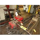 LINDE CM-79 TRACK BURNING UNIT W/18' OF TRACK
