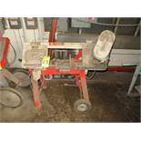 WELLSAW 58B HV BAND SAW W/MOBILE BAND SAW
