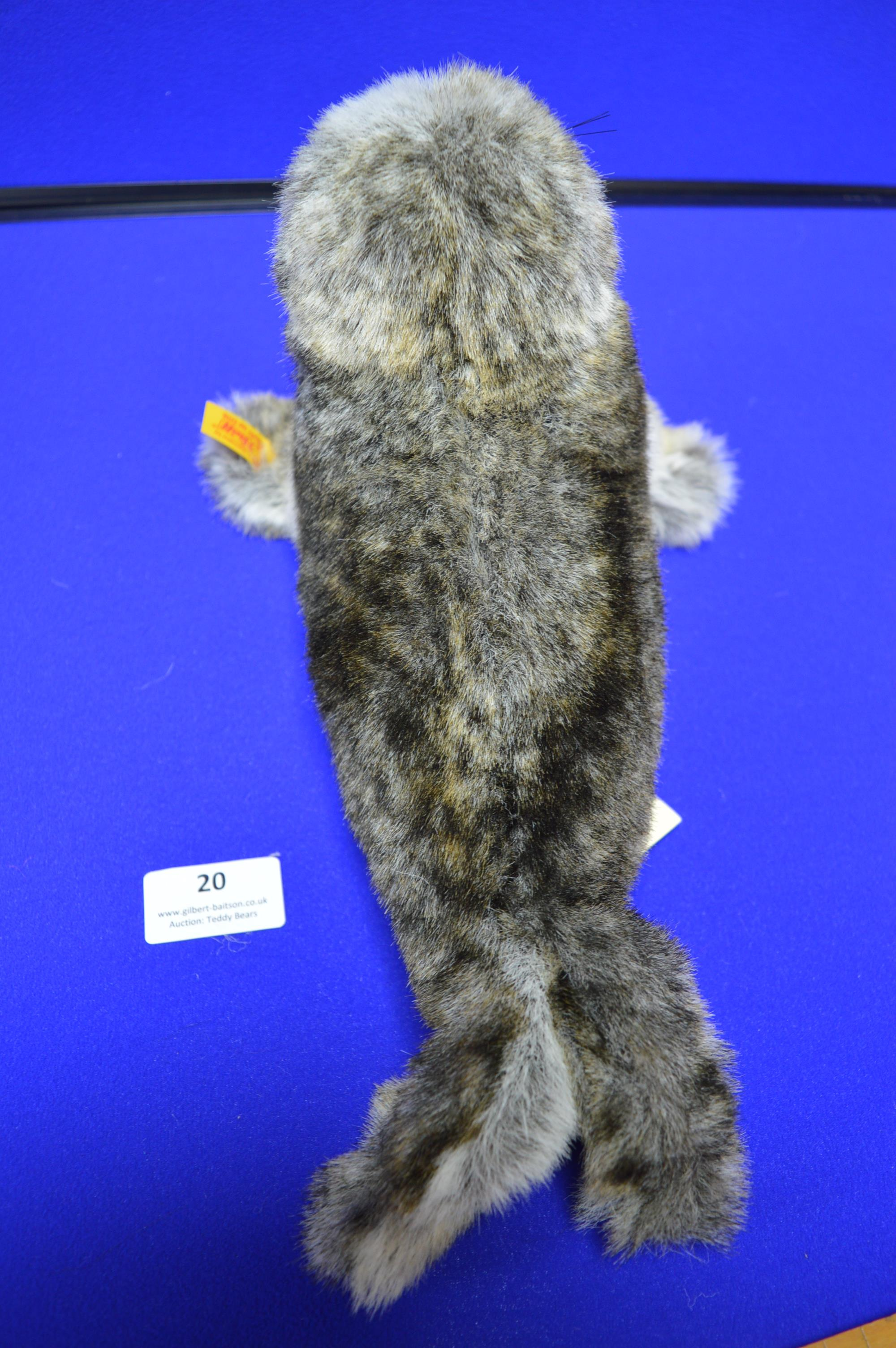 Steiff Robby Seal with Squeak (length 30cm) - Image 3 of 4