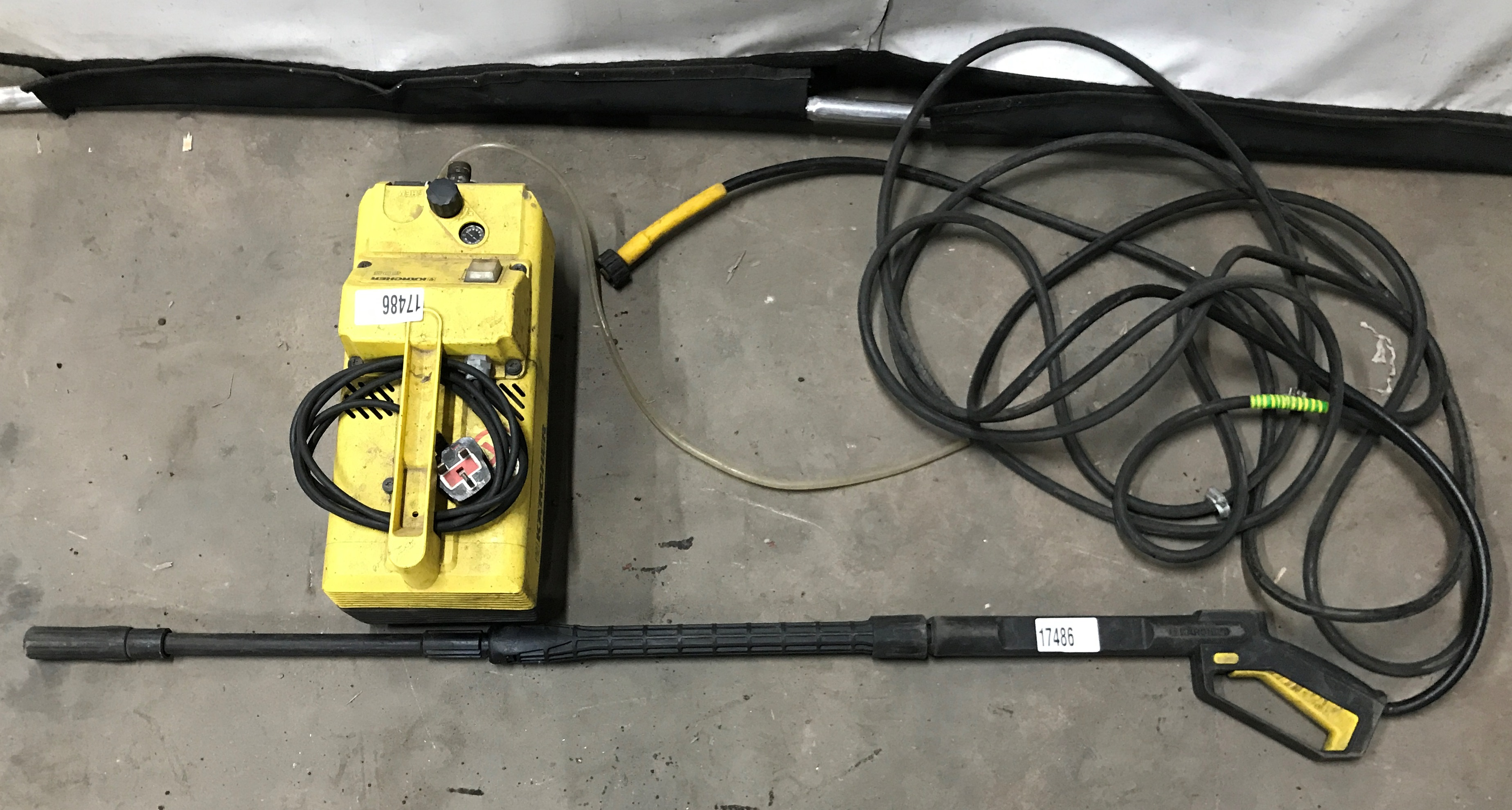 Karcher 695 Pressure WasherModel: 695Serial No: 089369This lot is