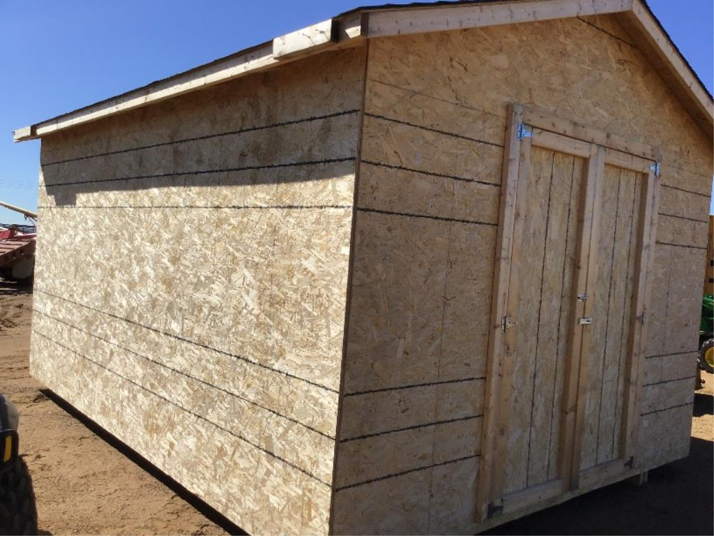 Lot 126 - 12x16 Shed