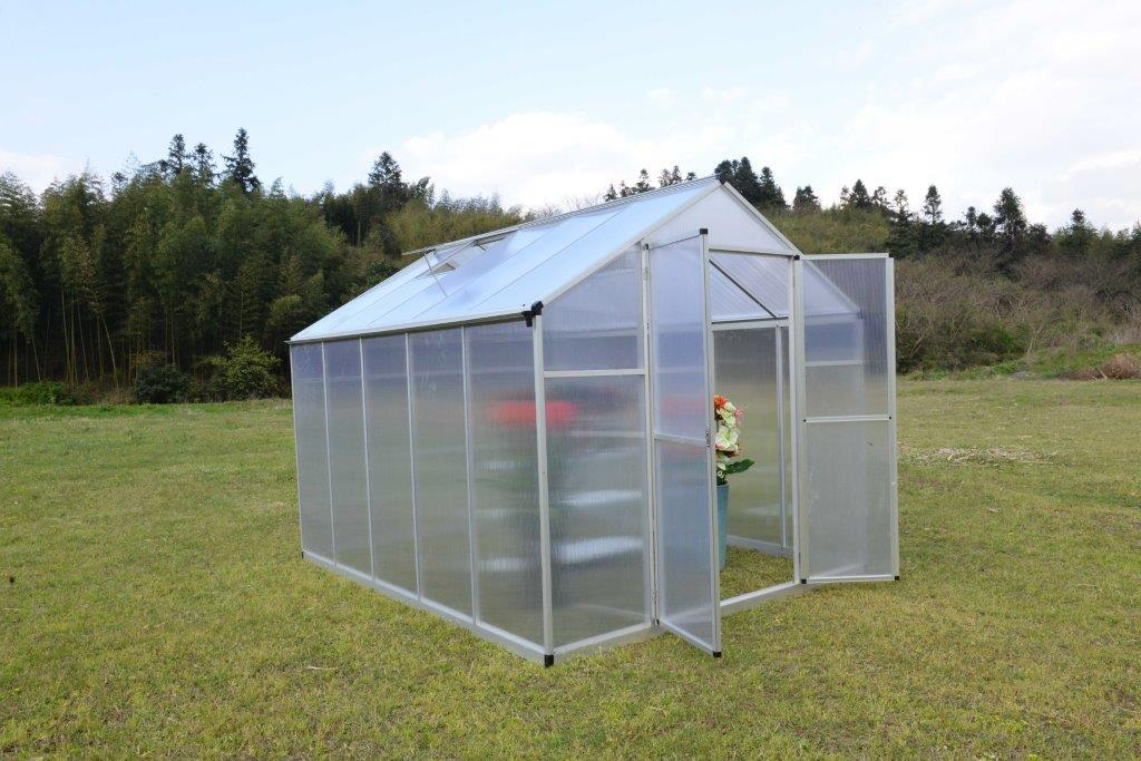 Lot 175 - 8FT X 10FT Twin Wall Green House